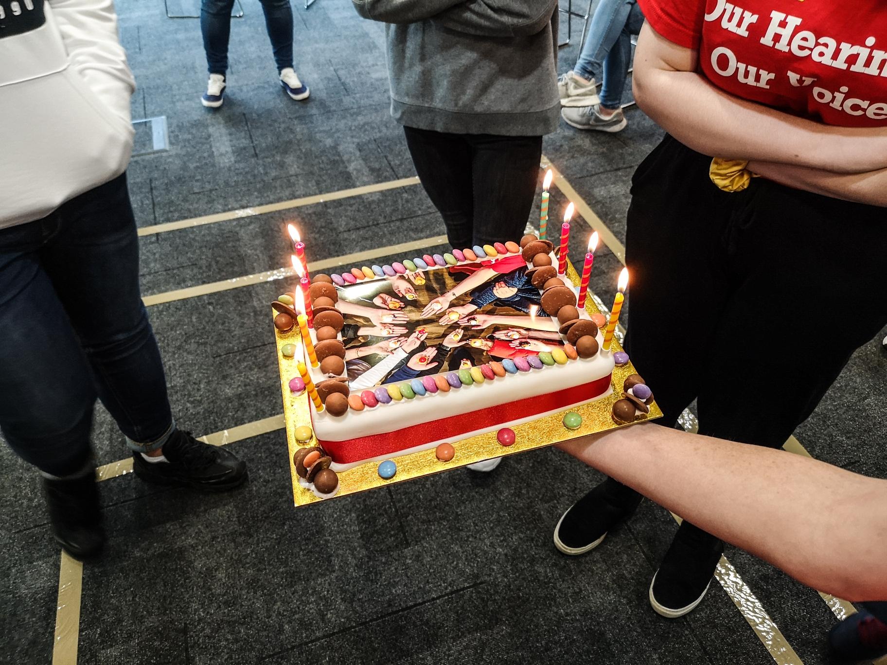 OHOV Birthday cake